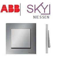 Розетки, выключатели ABB Sky