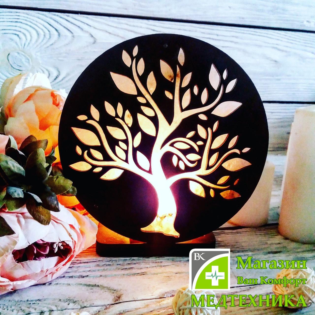 Соляная лампа «Дерево №1» 3-4 кг