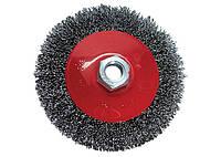 "Щітка для КШМ, 115 мм, М14, ""тарілка"", металева MTX"