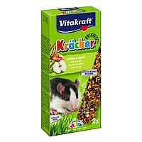 Крекер для крыс Vitakraft «Kracker Original + Spelt & Apple» 2 шт. (спельта и яблоко)