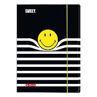 Папка картонная на резинке Herlitz А3 Smiley World Stripes (50016075), фото 1