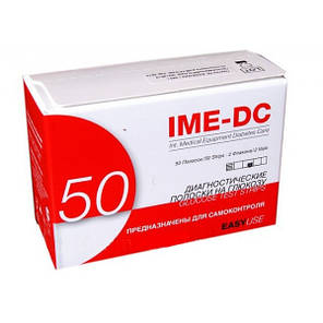 Тест-полоски к глюкометру IME-DC #50 - Име-ДиСи 50 шт., фото 2