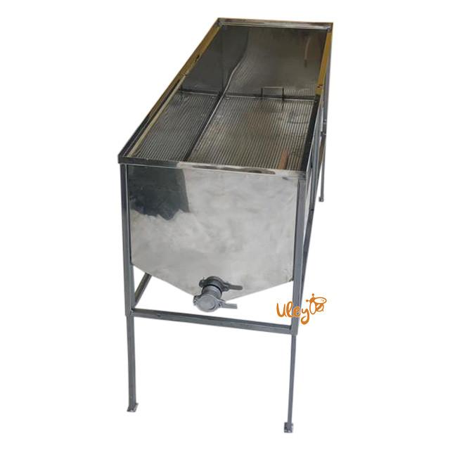 Стіл для розпечатування стільників (FB плоска кошик) — 1,5 метра (1643)