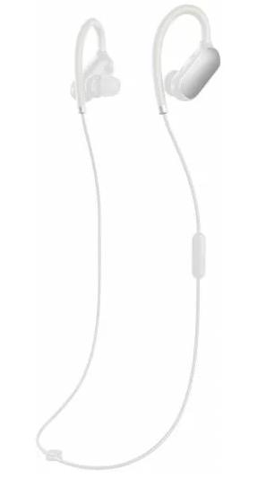 Беспроводные Bluetooth наушники Xiaomi Mi sport headset Оригинал Гарантия 3 месяца White
