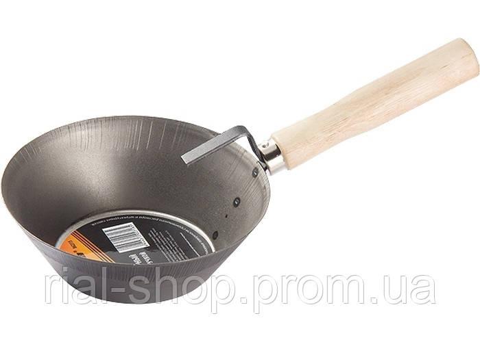 Ківш сталевий шт.укатурний, дерев'яна ручка SPARTA