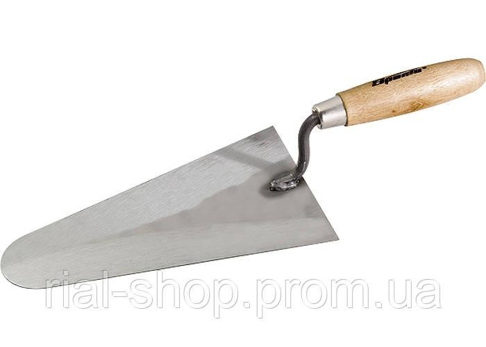 Кельма шт.укатура сталева, 200 мм, дерев'яна ручка SPARTA