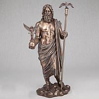 Статуэтка Зевс с Никой 38 см Veronese Италия (V-73239 A4)