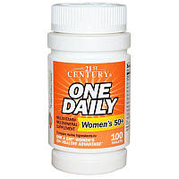 Витамины One Daily, Woman's 50+  100 таблеток