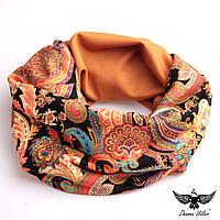 Двусторонний шарф-снуд, фото 1