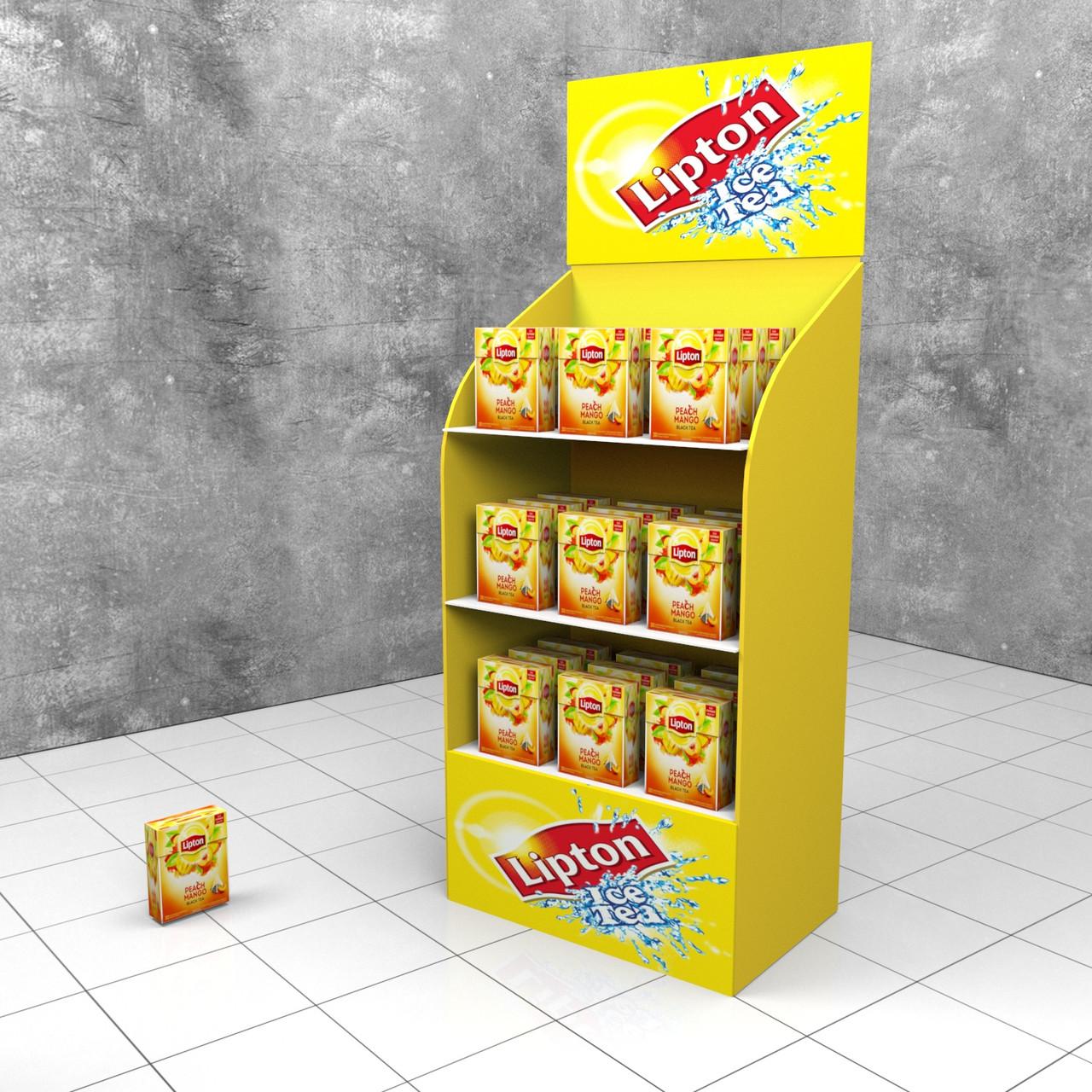 Стеллаж для чая Lipton