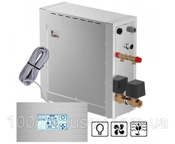 Парогенератор Sawo STN 75 DFP (dimmer+fan+pump)