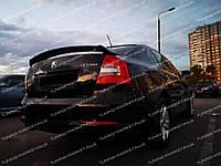 """Спойлер на багажник для Skoda Octavia A5 """"RS"""", Дефлектор Шкода А5"""