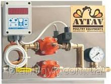 Вузол газопідготовки з термостатом в зборі
