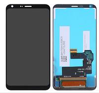 Дисплей (экран) для LG M700A Q6 Dual Sim + тачскрин, черный, оригинал