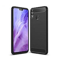 TPU чехол накладка для Huawei Honor 8X (Черный)