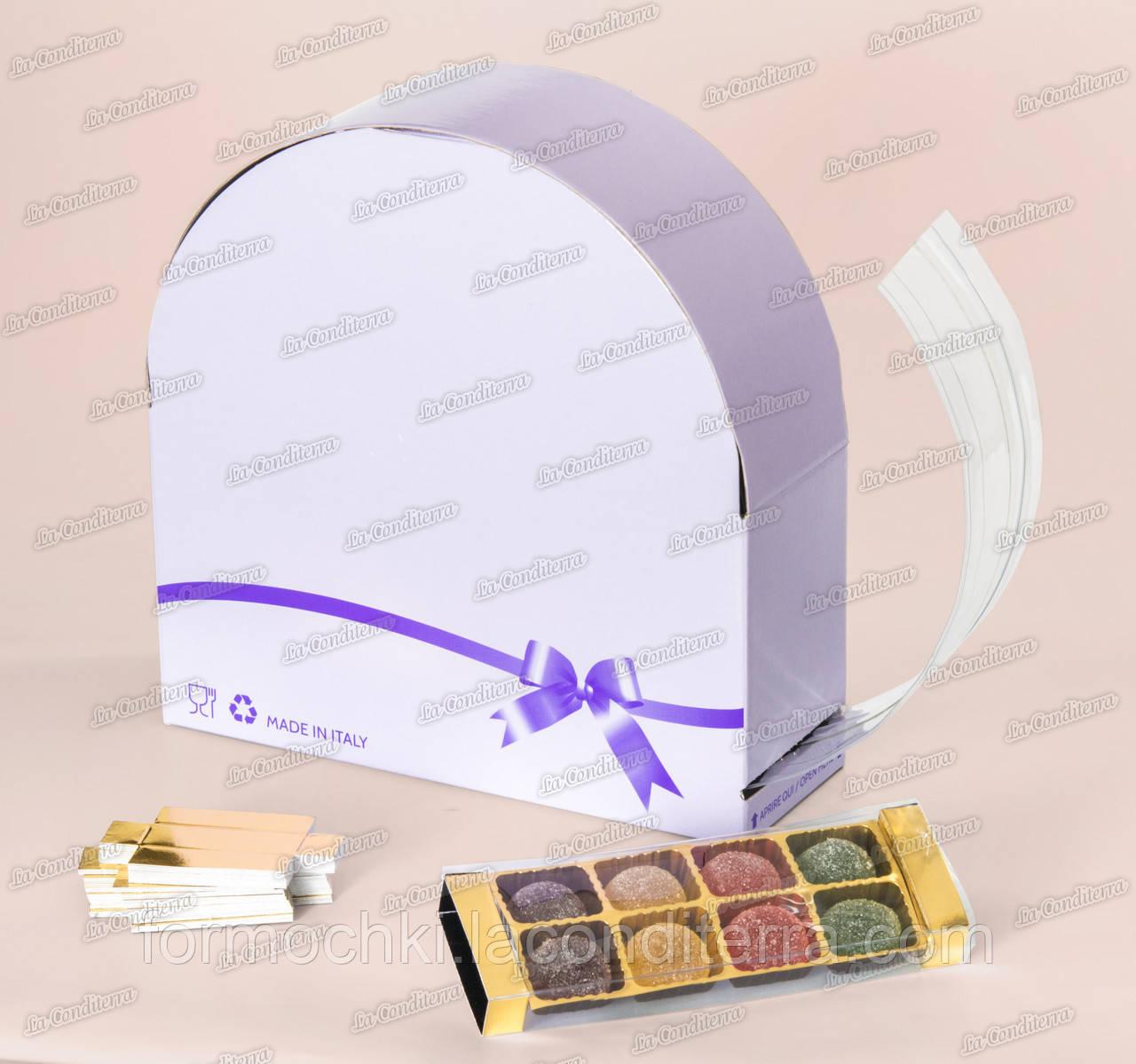 Упаковка  для конфет Speedy Pack (10 м, размер крышечки - 65x65 мм)