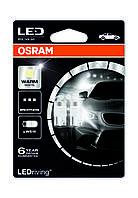 Автолампа Osram W5W LED 12V 1W 4000K W2,1X9,5D / 2ШТ