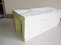 Декоративная балка 12х12 ED106 Модерн 3 метра Белый