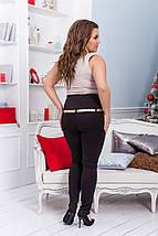 """Стильные женские леггинсы-лосины """"Лима"""" с завышенной талией (большие размеры), фото 3"""