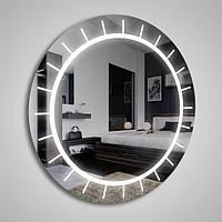 Круглое зеркало  «Sektorium» с подсветкой, фото 1