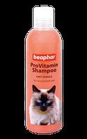 Beaphar Провитаминный шампунь Pro Vitamin Shampoo Pink/Anti Tangle for Cats для длинношерстых кошек 250 мл.