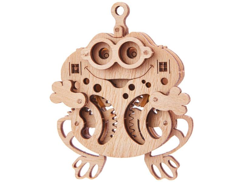 Конструктор деревянный Лягушка 3D. Wood trick пазл. 100% ГАРАНТИЯ КАЧЕСТВА!!! (Опт,дропшиппинг)