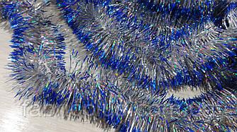 Мишура с цветными кончиками 5 см (3 м) цвет в ассортименте