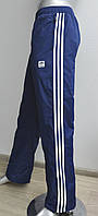 Мужские теплые спортивки Adidas, утепленные спортивные штаны