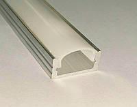 Алюминиевый профиль для светодиодных лент CП20 накладной матовый