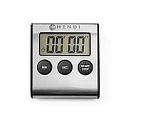 Таймер кухонный цифровой 65x70x(H)17 мм Hendi 582022