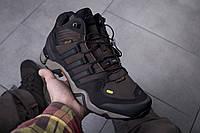 Мужские кроссовки Adidas Terrex Brown ( Реплика )