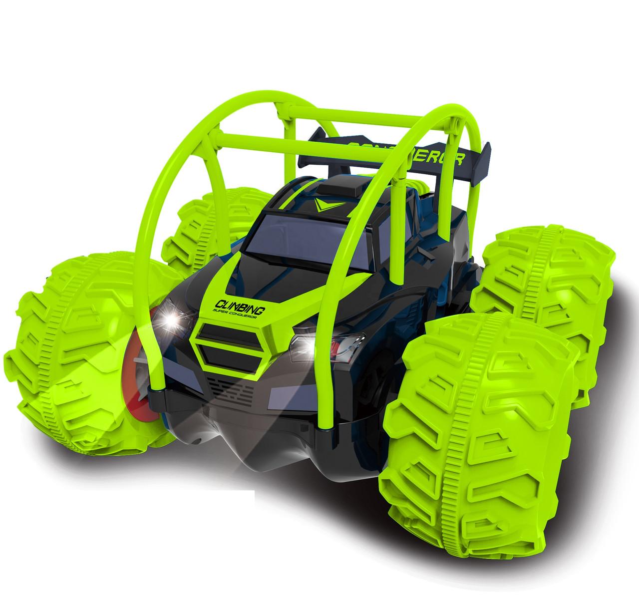 Радіокерована іграшка DWI Climbing Super Conqueror іграшковий джип-всюдихід на р/к Зелений (SUN2751)