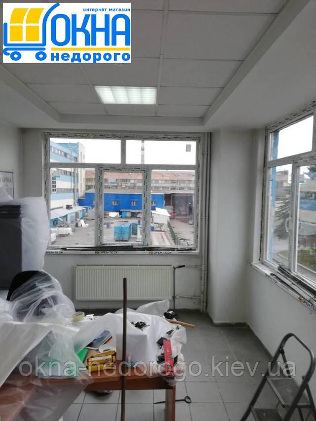 Монтаж пластиковых конструкций WDS (Украина)