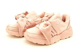 Кроссовки с бантиком для девочки, размеры: 32, 33