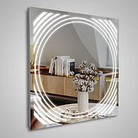 Квадратное зеркало «Orbit» с подсветкой, фото 1