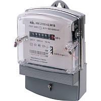 Лічильник НІК 2102-02.M1B 5-60А однофазний електромеханічний однотарифні