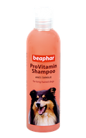 Beaphar Провитаминный шампунь Pro Vitamin Shampoo Pink/Anti Tangle for Dogs для длинношерстых собак 250 мл.
