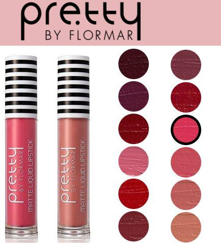 матовая помада Pretty By Flormar Silk Matte Liquid Lipstick цена