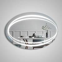"""Овальное зеркало """"Infiniti"""" с подсветкой, фото 1"""