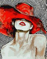 Картина по номерам ArtStory Мадам в шляпе 40 х 50 см (арт. AS0082), фото 1