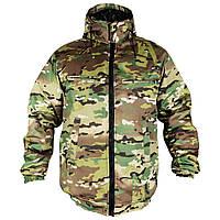 Мужская зимняя куртка с капюшоном Пилот MultiCam