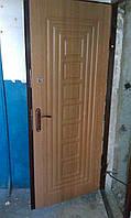Металлические двери  с  МДФ накладкой