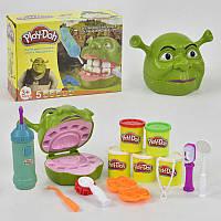 """Play-Doh Игровой набор с тестом для лепки  """"Зубастик"""" Шрек"""
