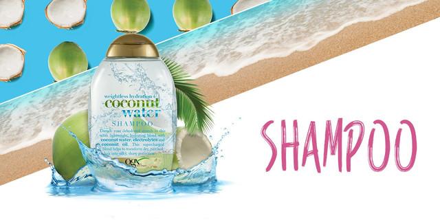 OGX Coconut Water Weightless Hydration Shampoo