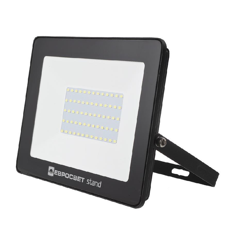 Прожектор светодиодный ЕВРОСВЕТ 70Вт 6400К EV-70-504 STAND 5600Лм