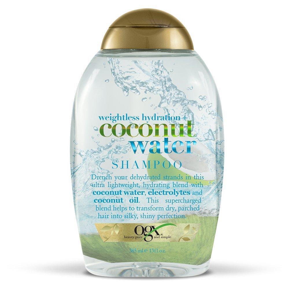 Увлажняющий шампунь с кокосовой водой OGX Coconut Water Weightless Hydration Shampoo