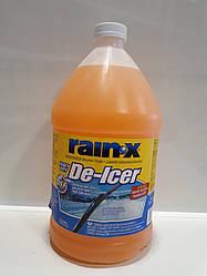 Незамерзающая жидкость (для омывателя стекла) RAIN X  (замена  РЕАК)  -32 С   3,78л