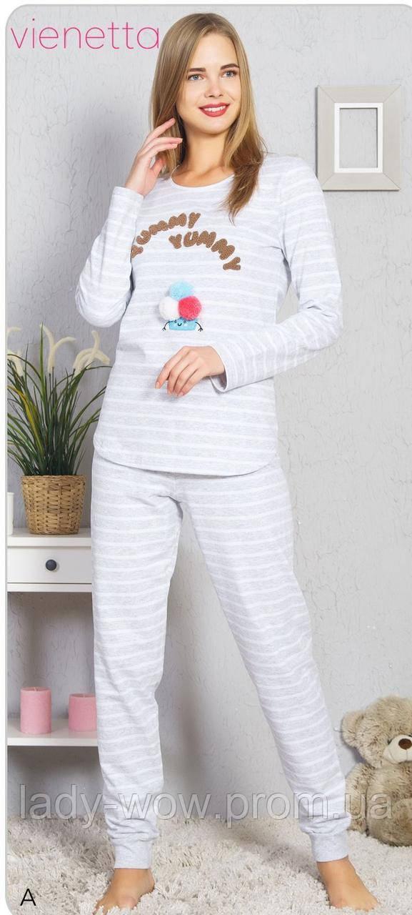 Пижама женская на баечке Vienetta Secret