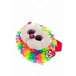 "TY Gear 95103 Різнобарвна сова ""Owen"" сумочка, фото 3"