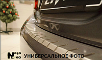 Накладки на бампер с загибом DOUBLE для MAZDA CX-5 2012-2015